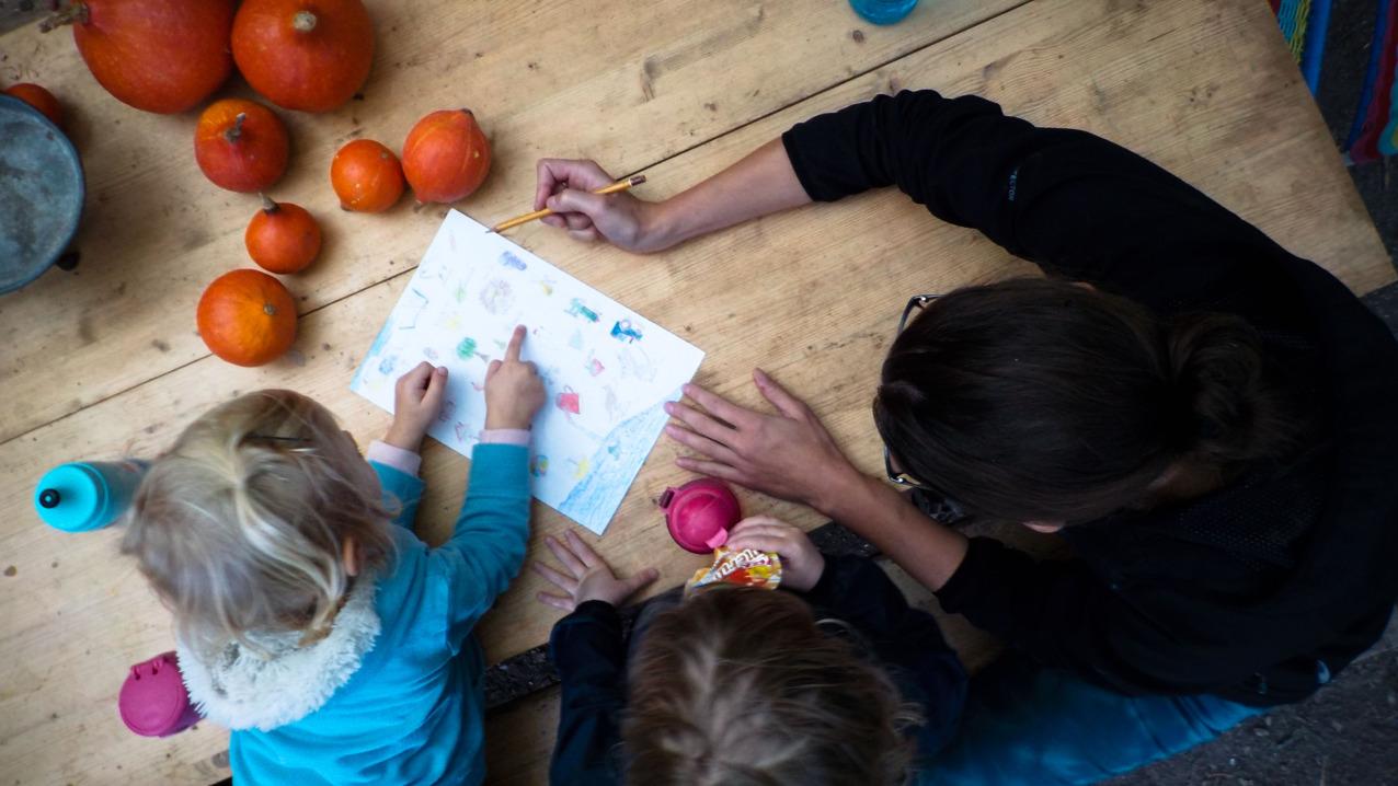 Průvodci a děti jsou si vzájemnou inspirací